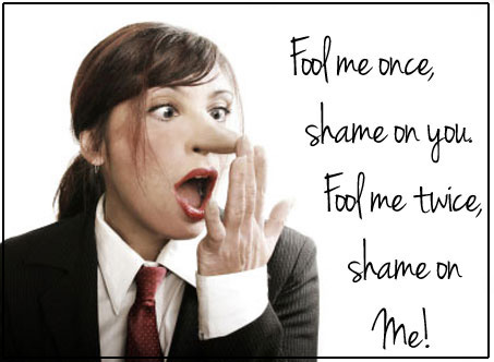 Fool me once shame on you image - sharonsayler.com