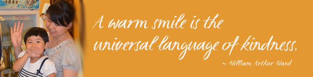 Smile is a universal language